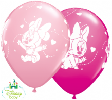 Baby Minnie Mouse Balloons - 11 Inch Balloons (25pcs)